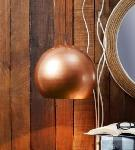 Noble Electricals Copper Koper Ball Metal Pendant Light NED11.67