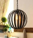 Noble Electricals Black Raven Industrial Pendant Light NED11.70