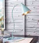 Noble Electricals Sea Green Hydra Seagreen Table Lamp NED13.24