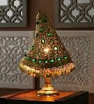 Noble Electricals Gold Moroccan Imperial Brass Table Lamp NED13.14