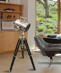 Noble Electricals Chrome Spot Mini Tripod Floor Lamp NED13.17