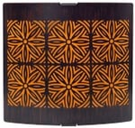 Philips 30955 White And Black 20W Moroccan Wall Light