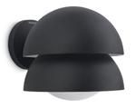 Philips 16452/30 Black IP44 Wall Light