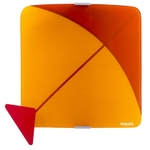 Philips 30819 Red And Orange 20W Wall Light