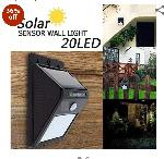 Standard Solar Sensor Wall Mount Led Light(Hot Selling)
