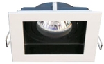 Jainsons Max 1X50W Frost WH+BK MR-16 LED Halogen Downlight Light FM16196 L1