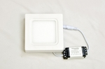 Powerlite CSPSW6 6W Cool White LED Ceiling Panel Light Pack Of 2