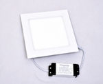 Powerlite FPSW12 Cool White 12W Square LED Panel Light Pack Of 2