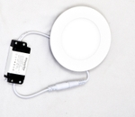 Powerlite FPRW6 Cool White 6W Round LED Panel Light Pack Of 2