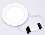 Powerlite FPRW12 Cool White 12W Round LED Panel Light Pack Of 2