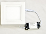 Powerlite SPSW6 Cool White 6W Square LED Panel Light Pack Of 2