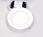 Powerlite SPRW6 Cool White 6W Round LED Panel Light Pack Of 2