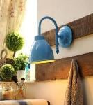 Noble Electricals Blue Jay Metal Wall Light NED10.22