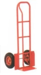 AKAR 200 Kg P Handle Hand Truck With Wheel Guard And Pneumatic Wheel