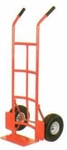 AKAR 200 Kg L Handle Hand Truck With Wheel Guard And Solid Wheel