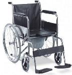 Hero Chrome Plating Commode Wheelchair MHL 1002 Commode