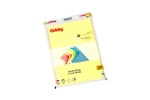 Oddy  FL80A4100-Yellow A4 Size Yellow Color Fluorescent Paper (Set Of 2)