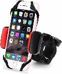 Standard Universal Bike Phone Holder With Super Grip Elastic Stabilizer For IPhone 4