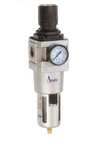Amatic (AF Series) Filter Regulator With Metal Guard 10 Bar Operating Pressure AF-03-10