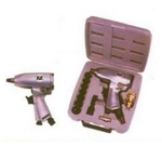 RY-211 B (Square Drive 3/8 Inch Speed 7000 Rpm) Single Hammer Impact Wrench Kit.