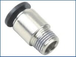 JELPC M7 Straight Connector With Male Thread 6xM7