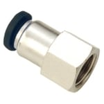 JELPC 3/8 Inch Straight Connector With Female Thread 6x3/8
