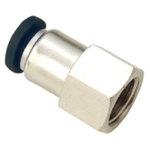 JELPC 1/8 Inch Straight Connector With Female Thread 12x1/8