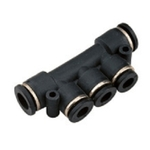 JELPC Unequal Multiple Tee Connector 6x4