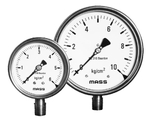 "Mass WPS-S Dia 150 Mm 1/2"" NPT 0-2500 Kg/cm2 Lower Pressure Gauge"
